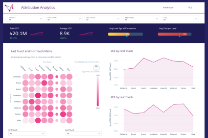 Attribution Analytics Page 1